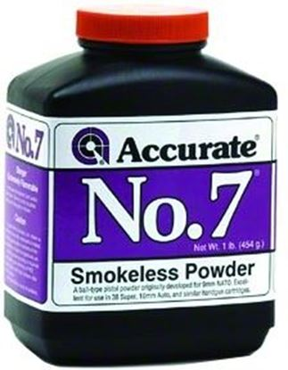 Picture of Accurate No 7 Double Base Smokeless Powder For Handguns, 1Lb, State Laws Apply