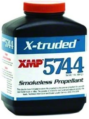 Picture of Accurate 5744 Double Base Smokeless Powder For Rifles, 1Lb, State Laws Apply
