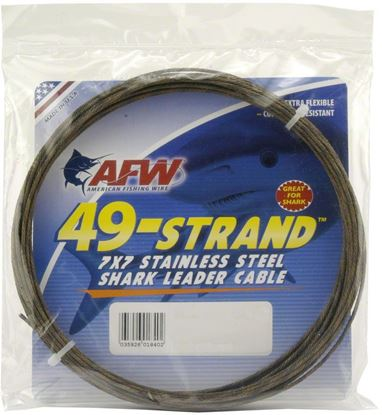 Picture of AFW 49 Strand™ Stainless Shark Leader Cable