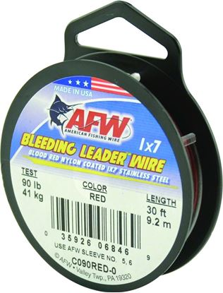 Picture of AFW Surflon Nylon Coated Leader