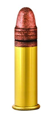 Picture of Aguila 1B222328 High Velocity Rimfire Ammo 22 LR, Plated LRN, 40 Gr, 1255 fps, 50 Round Box