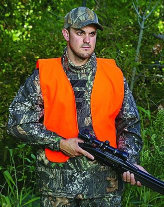 Picture of Allen Blaze Orange Safety Vests