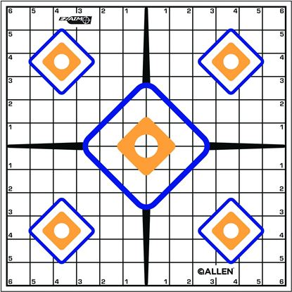 Picture of Allen EZ Aim Sight Grid Target