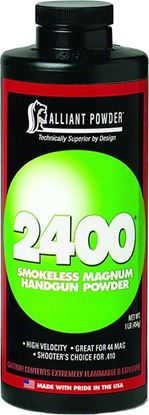 Picture of Alliant 2400 Smokeless Magnum Handgun Powder 1 Lb State Laws Apply