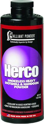 Picture of Alliant HERCO Smokeless Heavy Shotshell/Handgun Powder 1 Lb State Laws Apply