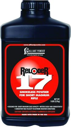 Picture of Alliant RELODER 17 Smokeless Medium Rifle Powder 1 Lb State Laws Apply