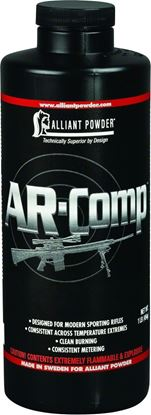 Picture of Alliant AR-COMP 1 Smokeless Rifle Powder for AR-Style 1 lb State Laws Apply