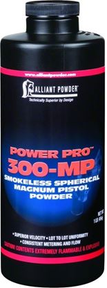 Picture of Alliant POWER PRO 300MP Smokeless Spherical Magnum Pistol Powder 1 Lb State Laws Apply