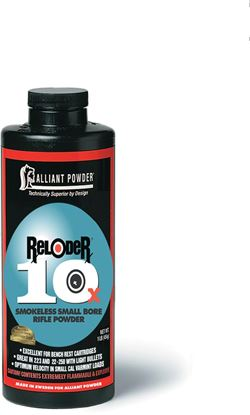 Picture of Alliant RELODER 10X Smokeless Small Bore Rifle Powder 1 Lb State Laws Apply