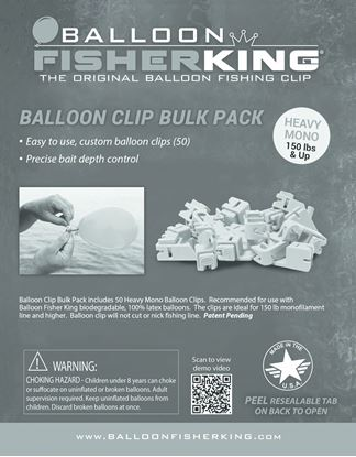 Picture of Balloon Fisher King Balloon Clip