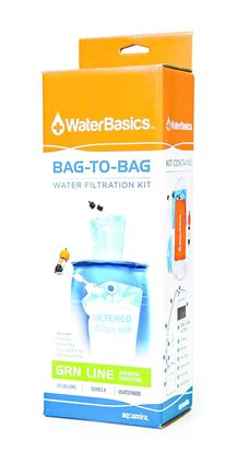 Picture of Aquamira Waterbasics Bag-To-Bag Water Filtration Kit