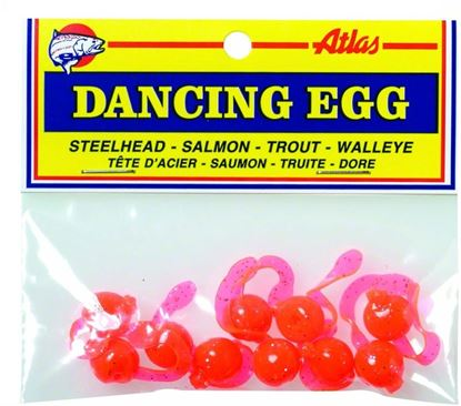 Picture of Atlas-Mike's 42023 Dancing Eggs Glitter Orange