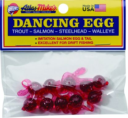 Picture of Atlas-Mike's 42026 Dancing Eggs Glitter Red