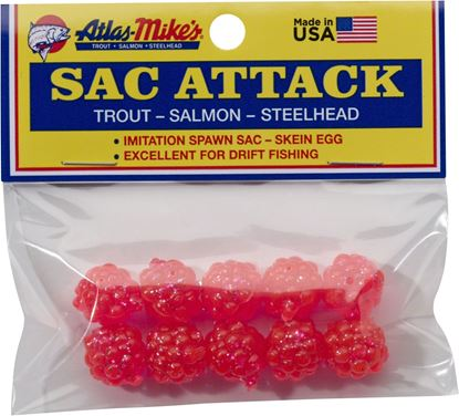 Picture of Atlas-Mike's 41025 Sac Attack Plastic Cluster Eggs, Pink