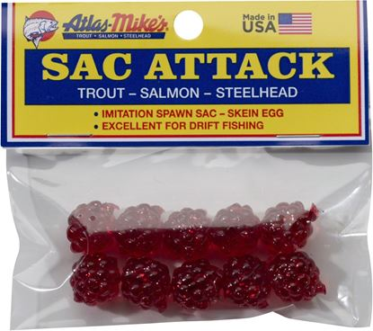 Picture of Atlas-Mike's 41026 Sac Attack (10 Per Bag) Red (452052)