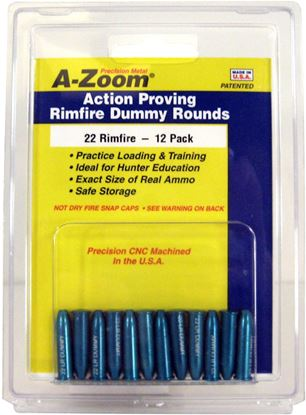 Picture of A-Zoom 12206 Rimfire Snap Cap, 22 Long Rifle 12Pk