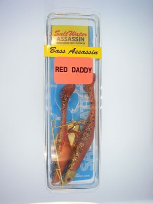 Picture of Bass Assassin Red Daddy Jig Spinner