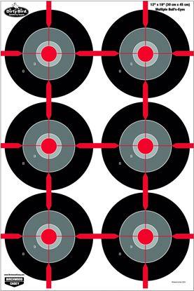 Picture of Birchwood Casey Dirty Bird Multiple Bullseye Target