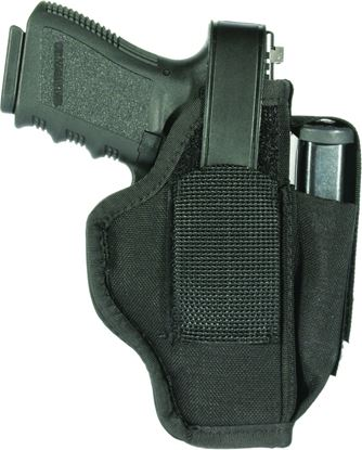"Picture of Blackhawk 40AM36BK Hip Holster 2.25"" Small Frame Revolver Ambidextrous"