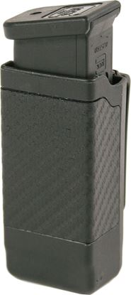 Picture of Blackhawk 410600CBK CF Double Stack Mag Case Black CF Finish 9mm/40Cal