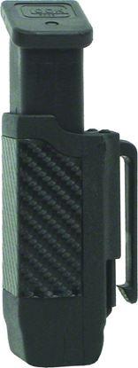 Picture of Blackhawk 410600PBK CF Double Stack Mag Case Black Matte Finish 9mm/40Cal