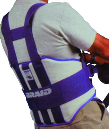 Picture of Braid Blue-Fin Harness