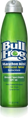Picture of Bullfrog Marathon Mist Continuous Spray Sunscreen