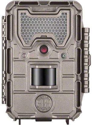 Picture of Bushnell 119837C Essential E3 Trophy Trail Cam HD, 16Mp Tan, Low Glow, Box