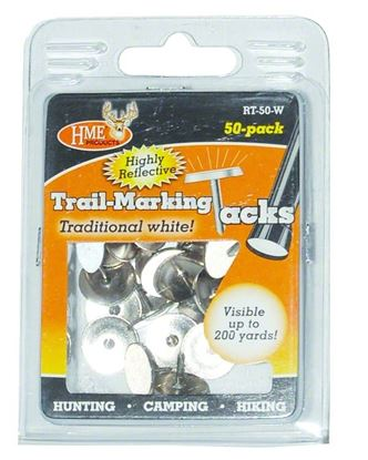 Picture of HME Trail Markers Reflective Tacks