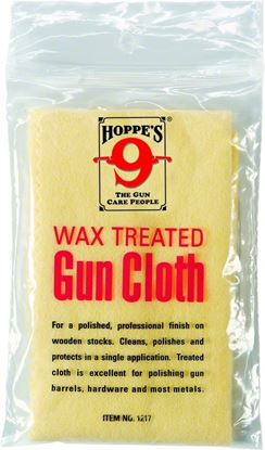 Picture of Hoppes Wax Treated Gun Cloth
