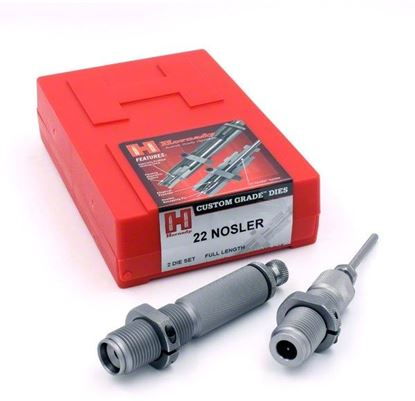 Picture of Hornady 546281 Series I 2-Die Rifle Die Set 6.5 PRC (.264)