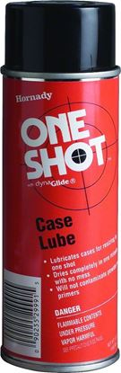 Picture of Hornady 009991 One Shot Spray Case Lube Non-Petroleum, 5.0 Oz