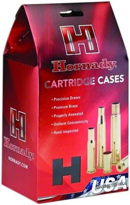 Picture of Hornady 8635 Unprimed Rifle Cartridge Case 270 WIN, 50 Pack