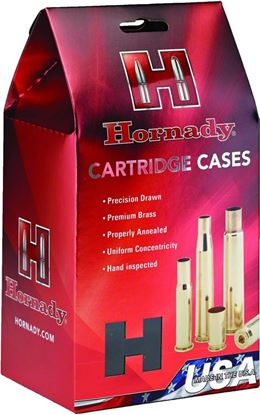 Picture of Hornady 86280 Unprimed Rifle Cartridge Case 6MM CREEDMOOR, 50 Pack