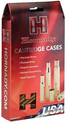 Picture of Hornady 86627 Unprimed Rifle Cartridge Case 30-40 Krag, 50 Pack