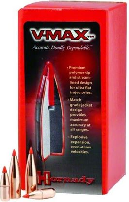 Picture of Hornady 22416 V-MAX Varmint Bullets .224 40Gr (250)