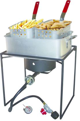 Picture of 16-Inch Propane Outdoor Cooker