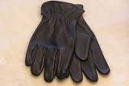 Picture of Black Deerskin Gloves