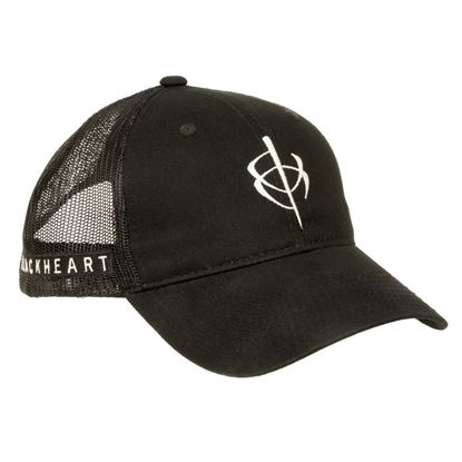 Picture of BlackHeart Mesh Hat