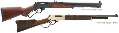 Picture of Henry Lever Action 45-70 Government RH 18..4 WD BL