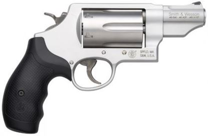 Picture of S&W 160410 GOVNR 45LC/45ACP/410 2.75 SYN/SLV 6RND