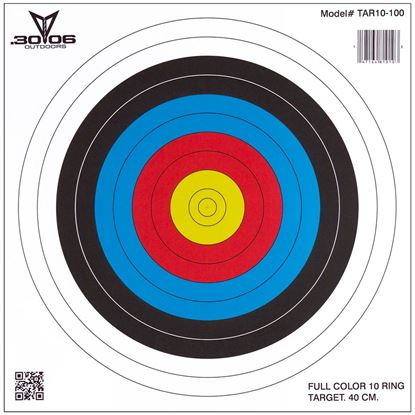 Picture of 30-06 10 Ring Paper Targets