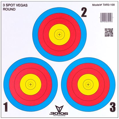 Picture of 30-06 3 Spot Vegas Targets