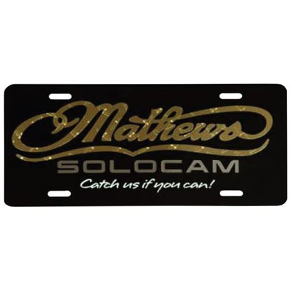 Picture of DWD Mathews License Plate