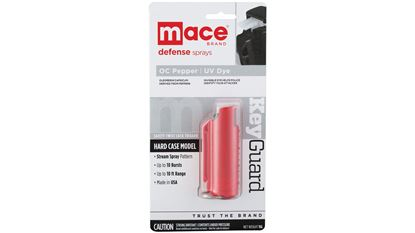 Picture of Mace Brand Hardcase W/Keyring Red
