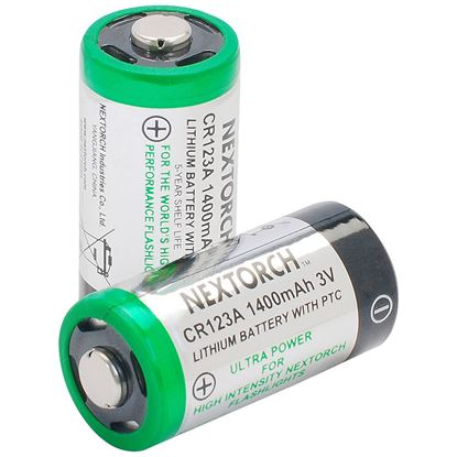 Picture of Nextorch CR123A Battery