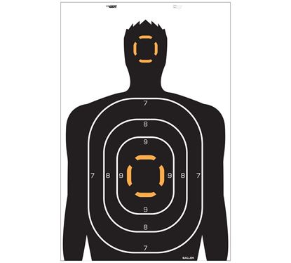 Picture of ALL EZ AIM HUMAN TARGET 4PK