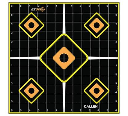 Picture of ALL EZ SEE GRID TARGET 5PK