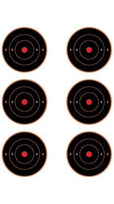 """Picture of ALL EZAIM 3"""" AIMING DOTS 6PK"""
