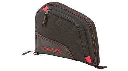 "Picture of Allen Autofit Pistol Case 9"" Black/Red"